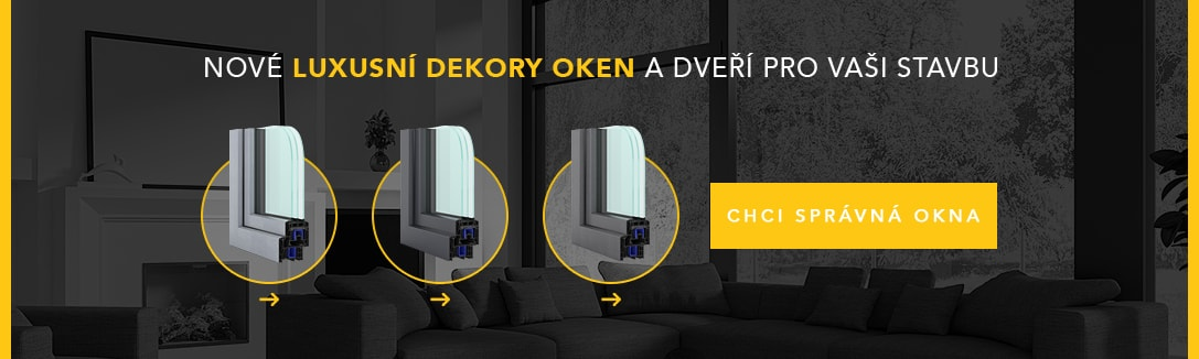 Nové luxusní dekory a dveří pro vaši stavbu - VÍCE INFORMACÍ